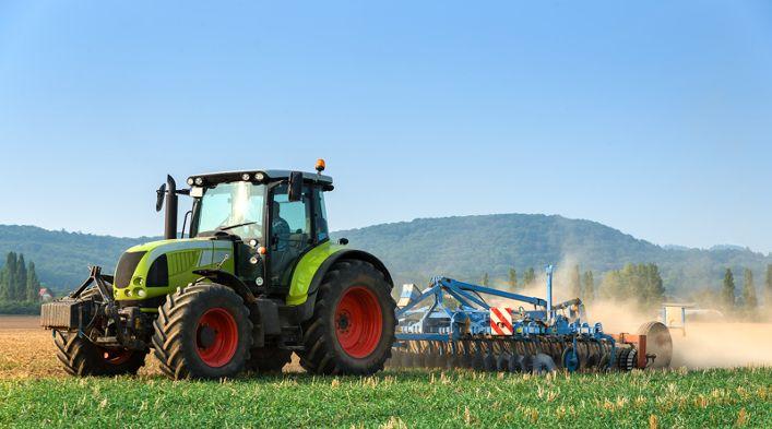Selbstabscheidende Lacke für die Landwirtschaft