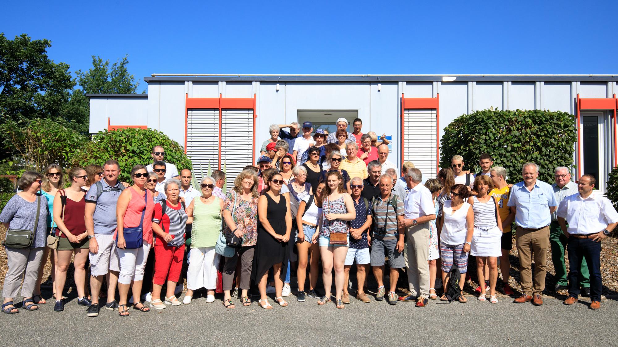 Besuchergruppe aus Frankreich