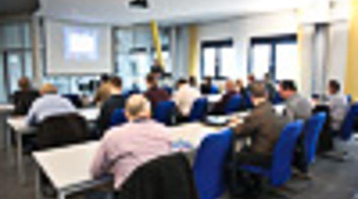 Informationsveranstaltung bei BBL Oberflächentechnik